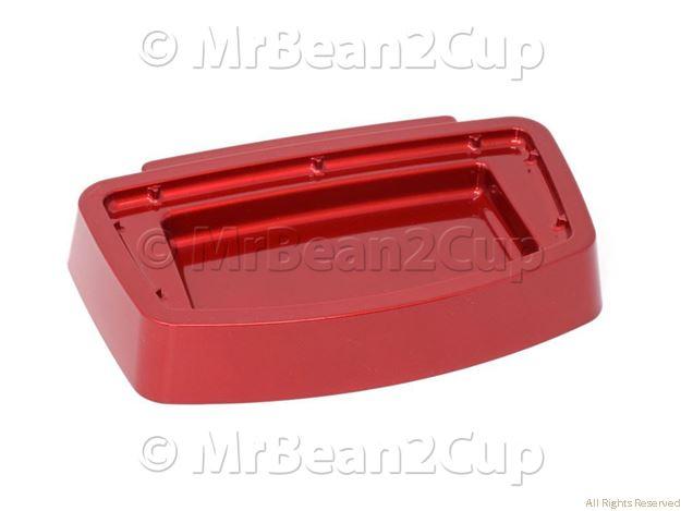 Picture of Gaggia Espresso Pure and Colour Red Drip Tray