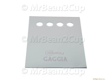 Picture of Gaggia New Baby 06 Keys Plate