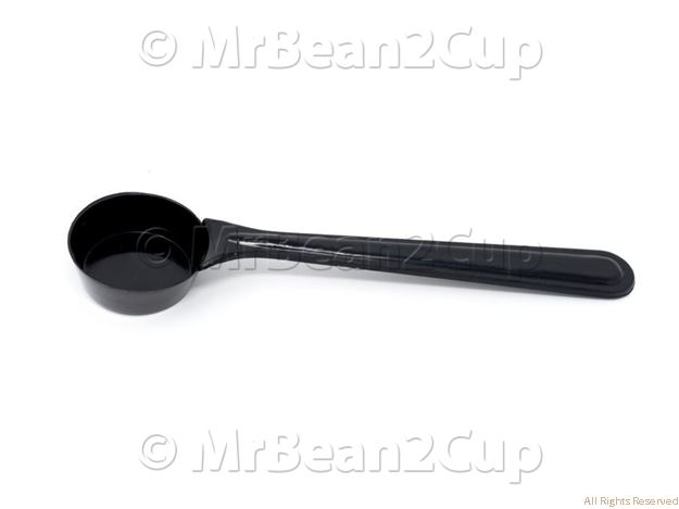 Picture of Black Plastic Coffee Spoon 7g