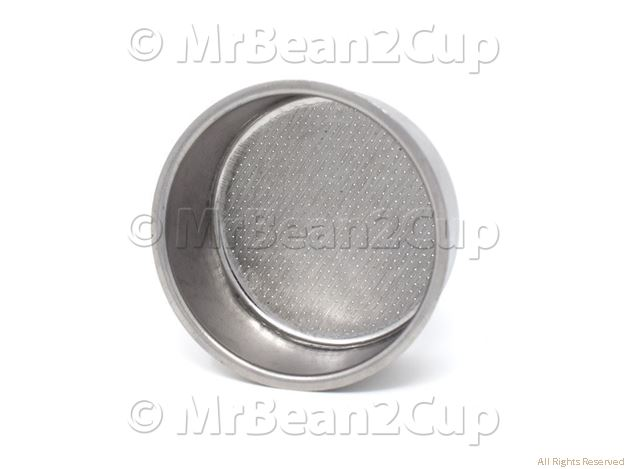 Picture of Gaggia 2 Cup Filter Basket 54.5x25 W/O.Not. Hole D=48 (Gaggia Carezza Deluxe)