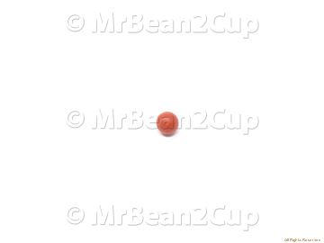 Picture of Gaggia Red Silicone 80SH Sphere for Bleeding Valve
