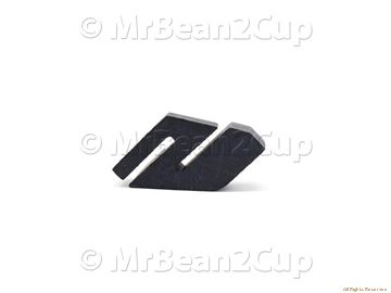 Picture of Gaggia Saeco Black Mounting Plate Cover Protect