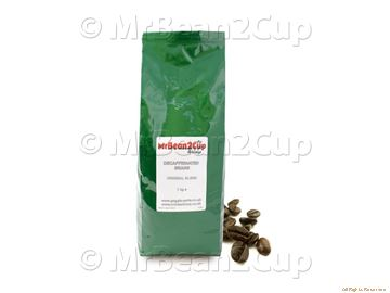 Picture of Mr Bean2Cup Coffee - Decaffeinated Whole Espresso Beans - 1kg
