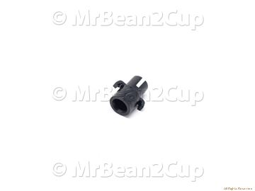 Picture of Gaggia Saeco Black Bush For Teflon Tube 2X4 P124