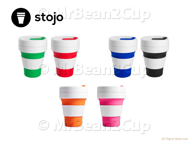 Stojo Collapsible Pocket Cup All Colors