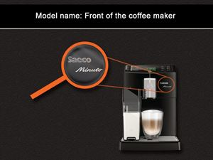 Saeco model name