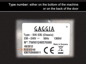 Gaggia Type number2