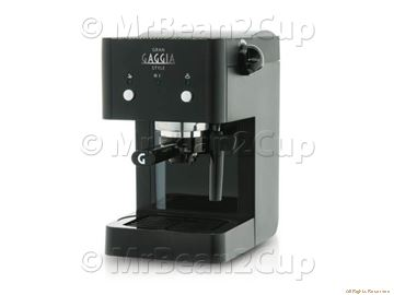 Gaggia Gran Style Black Manual Espresso Machine