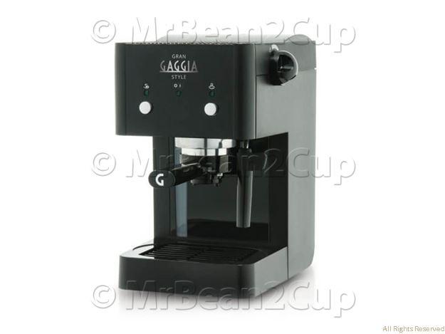Gaggia Gran Style Black Manual Espresso Machine