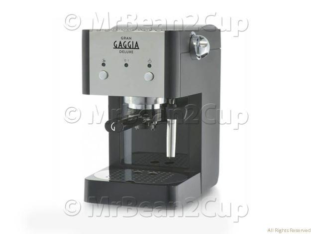 Gaggia Gran Deluxe Black Manual Espresso Machine 1