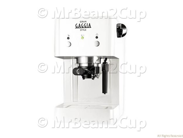 Gaggia Gran Style White Manual Espresso Machine