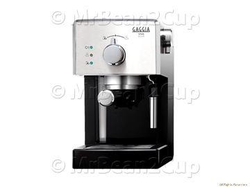 Gaggia Viva Deluxe Black/Silver Coffee Machine