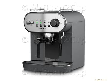 Gaggia Carezza Style Stainless Steel Manual Espresso machine