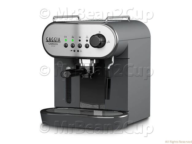 Gaggia Carezza Style Stainless Steel Manual Espresso machine