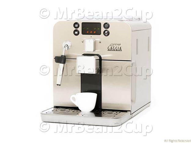 Gaggia Brera Silver Bean to Cup Espresso Machine 1
