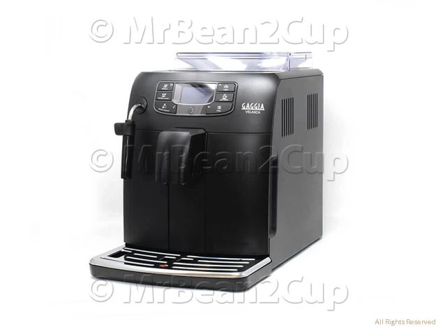 Gaggia Velasca Black Super-automatic espresso machine 1