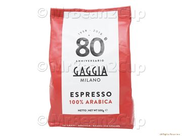 Picture of Gaggia 100% Arabica Whole Coffee Beans 500g NEW BLEND