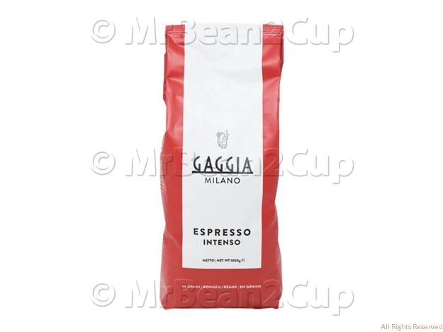 Picture of Gaggia Intenso Whole Coffee Beans 1Kg NEW BLEND
