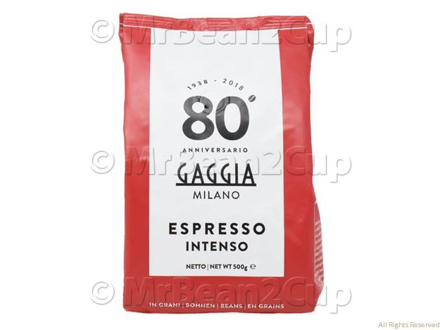 Picture of Gaggia Intenso Whole Coffee Beans 500g NEW BLEND