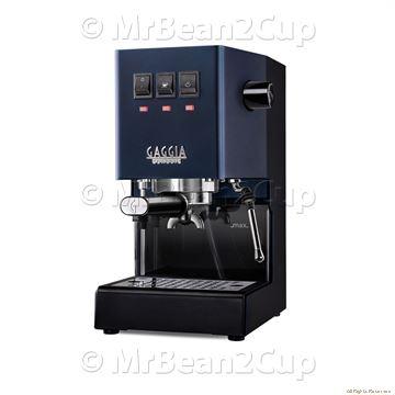 Picture of New Gaggia Classic 2019 MID NIGHT BLUE RI9480 Manual Espresso Machine