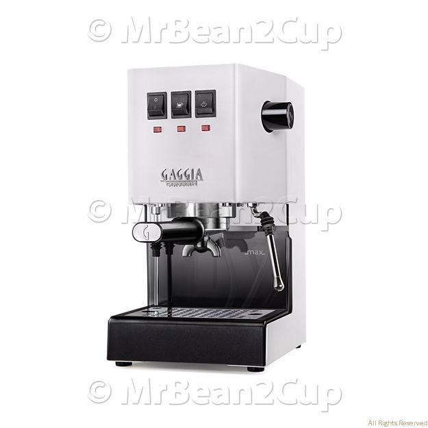 Picture of New Gaggia Classic 2019 WHITE RI9480 Manual Espresso Machine