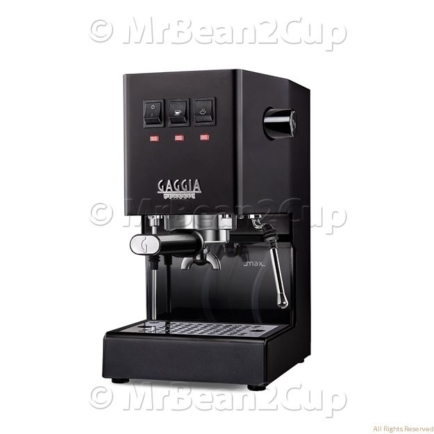 Picture of New Gaggia Classic 2019 BLACK RI9480 Manual Espresso Machine