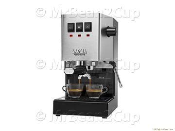 New Gaggia Classic RI9480 Stainless Steel Manual Espresso machine