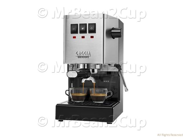 New Gaggia Classic RI9480 Stainless Steel Manual Espresso machine