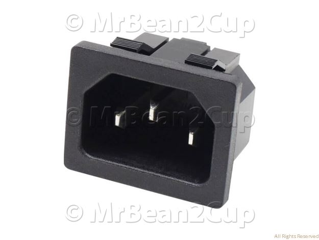 Picture of Gaggia Saeco Cup Socket EN 60320 C13 230V