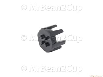 Picture of Gaggia Saeco Black Water Container Valve Insert V2 P0049