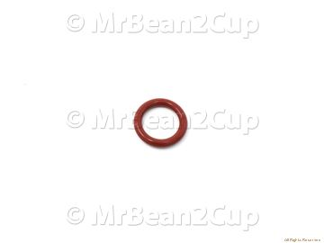 Picture of Delonghi O-Ring 0115 Red Silicone
