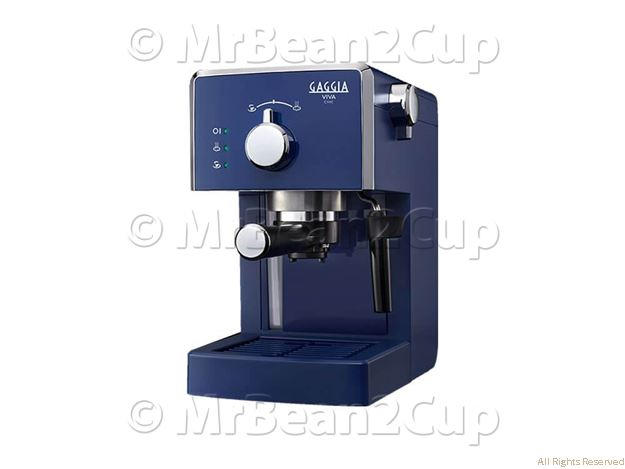 Picture of Gaggia Viva Style Chic - Blue Coffee Machine