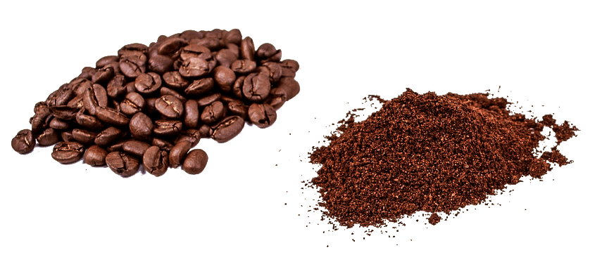 Ground and whole coffee